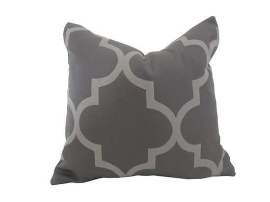 Tonal Grey Pillow by nenavon #Pillow #nenavon