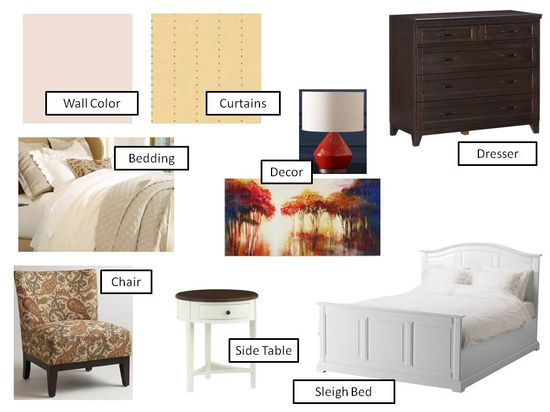Bedroom Design Board I An Uncommon Fraase