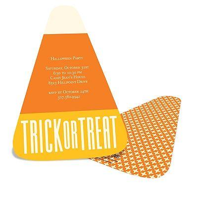 Sweet Treat -- Halloween Party Invitation