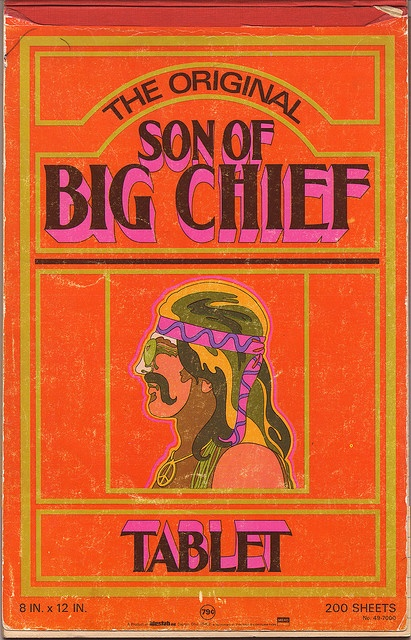 Son of Big Chief tablet, 1970s