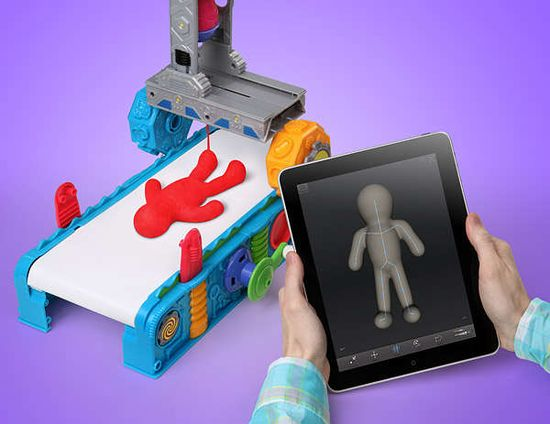 ThinkGeek's Play-Doh 3D Clay Printer is the Ultimate Children's Toy trendhunter.com