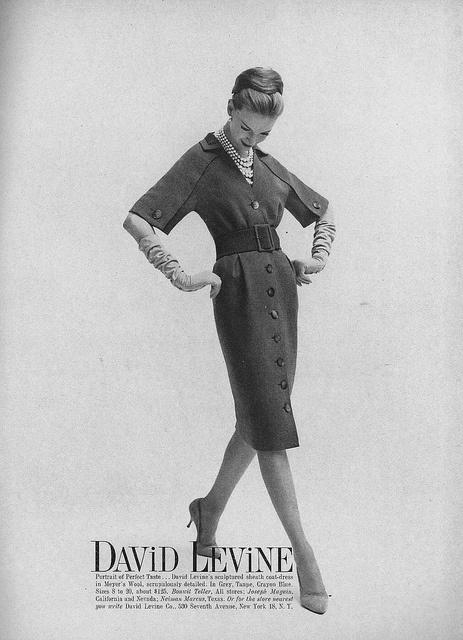 ruched gloves. #vintage #1950s #fashion #gloves