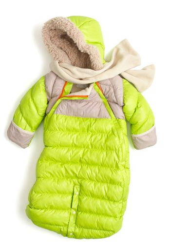 Keep baby warm + cozy