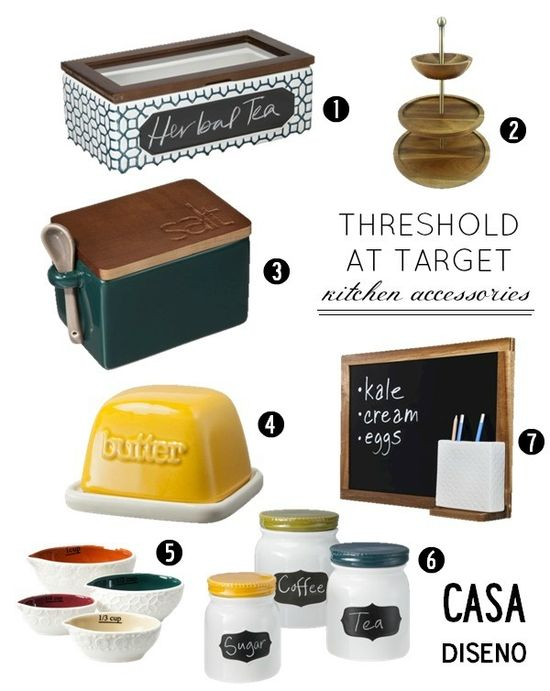Weekly Find: Threshold Kitchen Accessories @Target #kitchenaccessories #kitchen #decorating #design