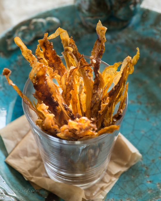 Raw Eggplant Fries @ Rawmazing.com