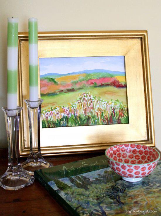 #Autumn landscape watercolor #art #painting