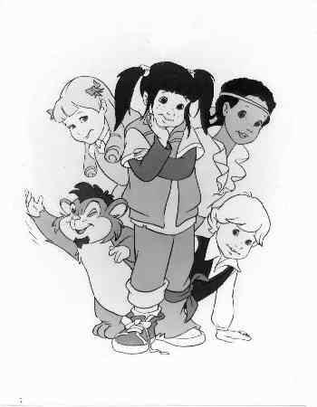 Punky Brewster Cartoon