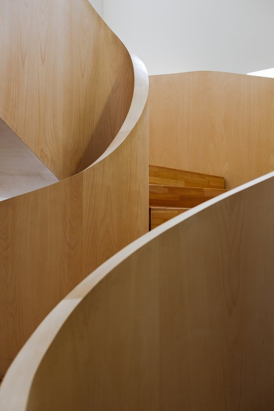 National Olympic Committee House, Tbilisi, 2011 bit.ly/zdeHDS by Architects of Invention #archilovers #architecture #design #stair