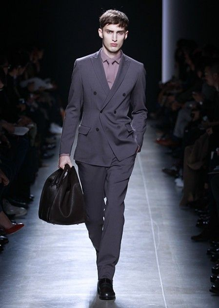 tqb4lb2e3l1 Bottega Veneta Fall Winter 2013 Men's Suiting