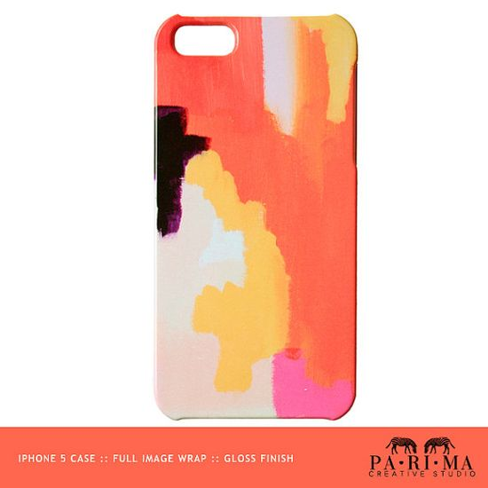 iPhone 5 Case from Abstract Painting- Moroccan on Etsy, $31.70 CAD #Etsy #EtsyColour #colourful @Etsy