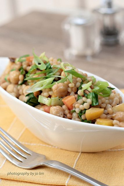 couscous with chick peas salad - Africa