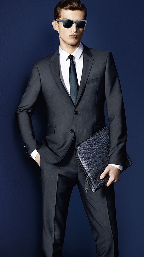 Charlie France in Burberry. Men's Suit