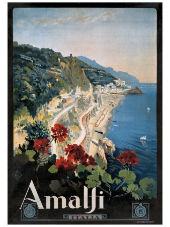 Travel poster for Italy
