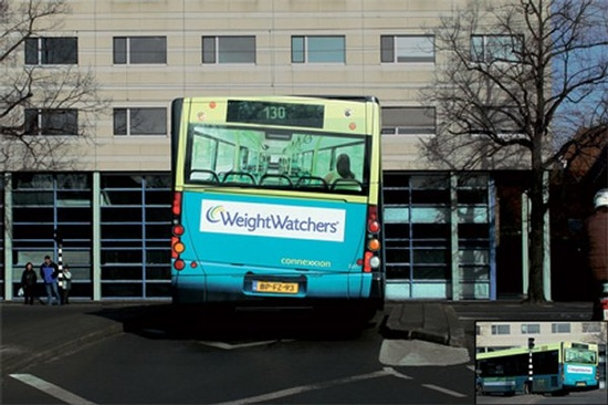 Weight Watchers - Ads on Trucks & Buses