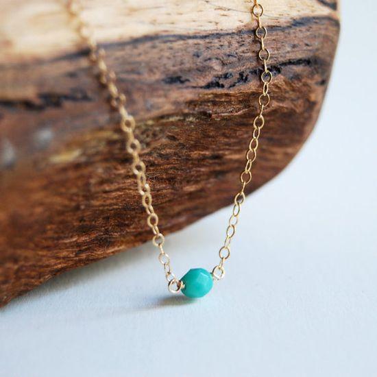Kahoni necklace  tiny by kealohajewelry