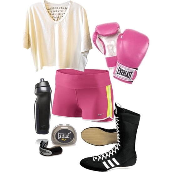 Physical Exercise 71 (MMA), created by lifeofstar on Polyvore