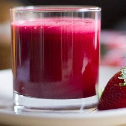 Beet-Apple-Strawberry Juice