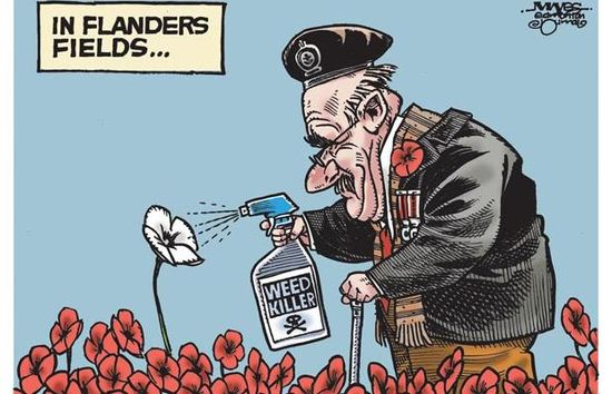 Malcolm Mayes cartoon - 2013