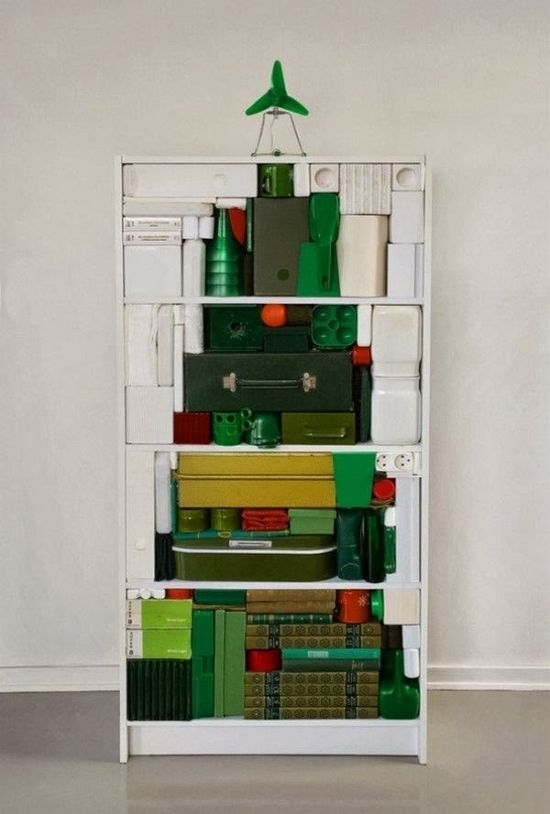 modern home interior design- book case tree
