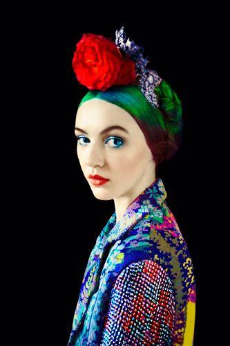 Mary Katrantzou, Florals