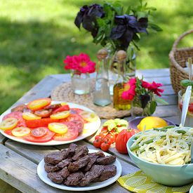 Easy Summer Picnic Menu