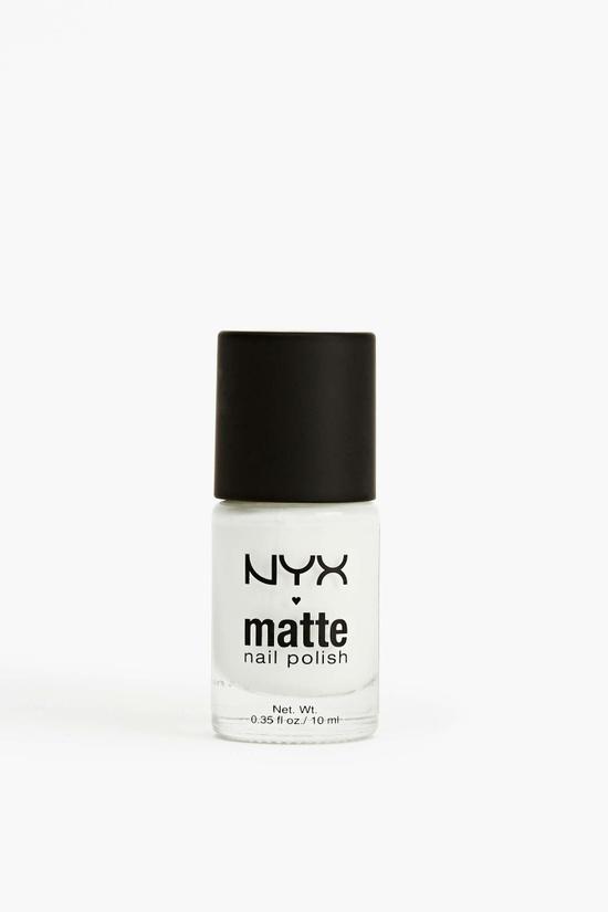 NYX Matte Polish in White