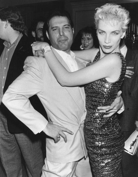 Freddie Mercury, Annie Lennox.
