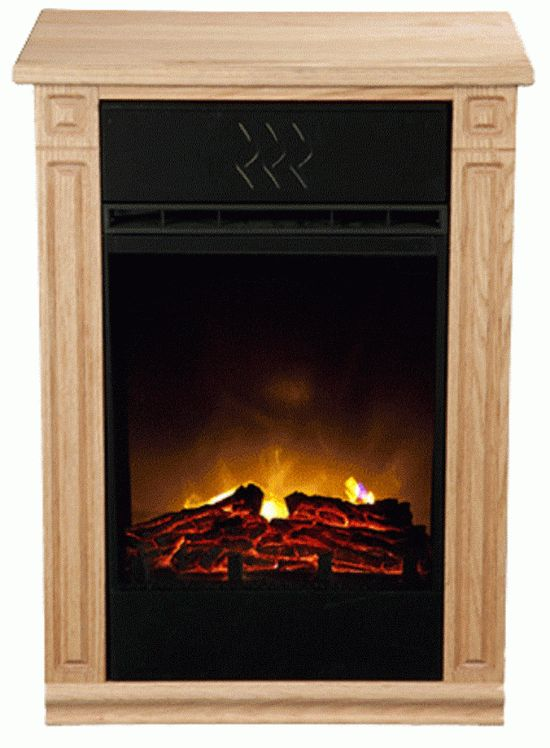 The Amish Fireless Fireplace Is An Wonderful Tool: Light Oak Accent Amish Fireless Fireplace Electric Heater ~ lanewstalk.com Indoor Furniture Inspiration