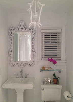 Luxe Report: Luxe Decor: Guest Bathroom Before & After