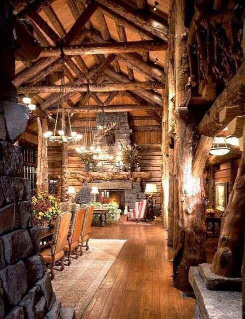 Log #home design ideas #home decorating before and after #modern home design #home design #interior design