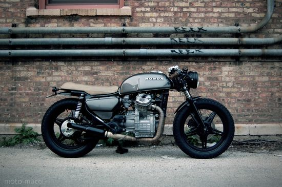 Moto-Mucci: PROJECT CX: The CX500 Cafe Build Gets The Full Shoot