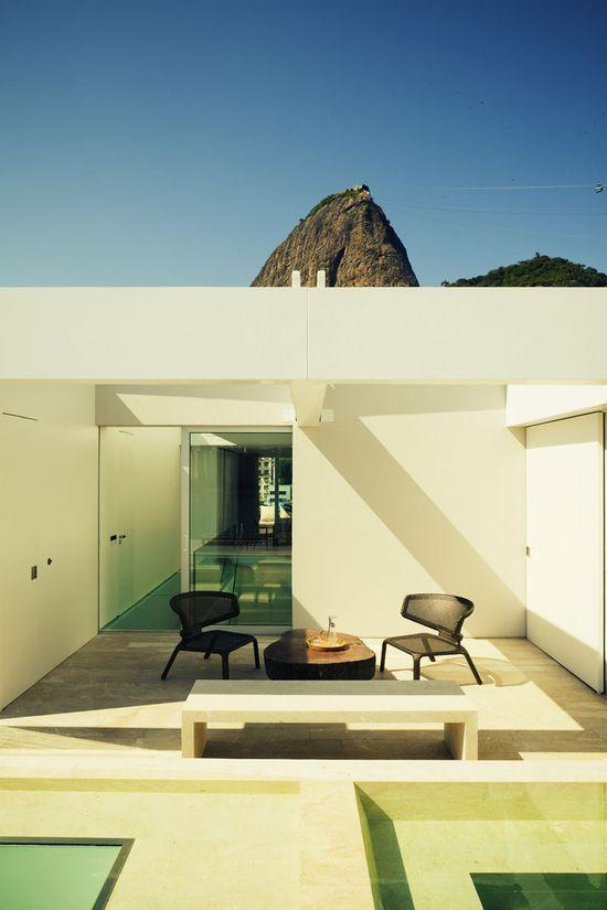 A Penthouse By Arthur Casas In Urca, Rio de Janeiro, Brazil