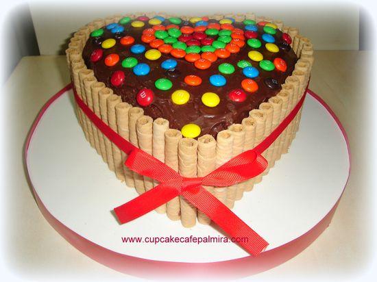 Cake Heart #mms