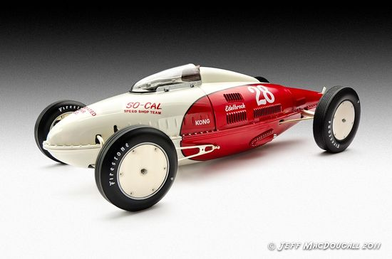 So-Cal Belly Tank Bonneville Racer