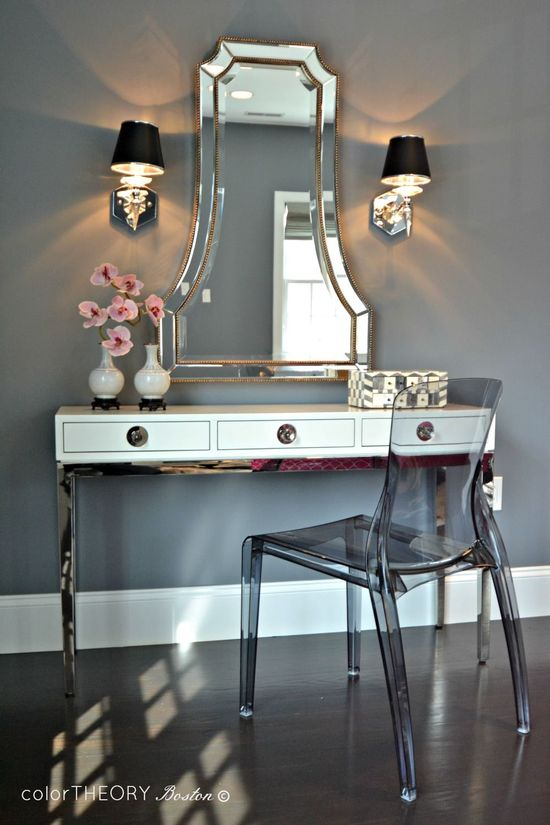Master Bedroom - Glam - Bedroom - Images by colorTHEORY Boston