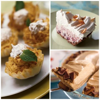 Perfect Pies: 10 Easy No-Bake Pies for Thanksgiving #Thanksgiving #pie #no-bake #recipes