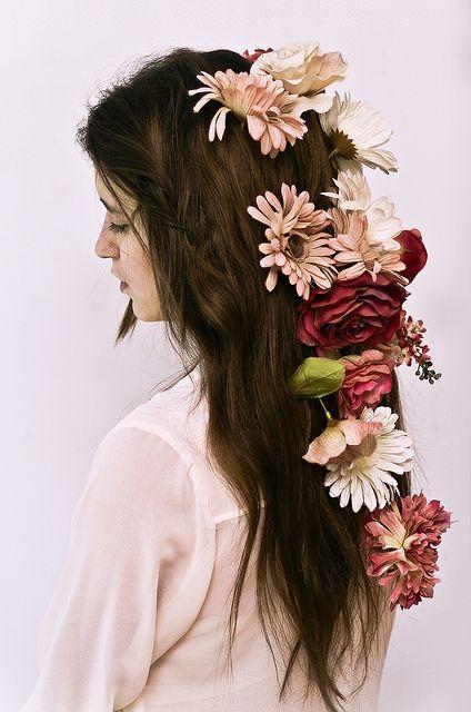 flowers... #hair