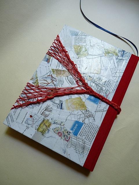 Handmade book by Lucie Forejtova, immaginacija on Flickr