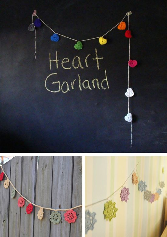 Crochet Garlands party crochet party ideas party favors parties party decorations party fun party idea party idea images party images party photos party idea pictures garlands