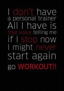 I motivate myself