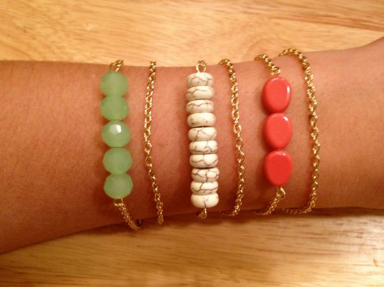 The Rio Bracelet Trio by elladolce on Etsy, $35.00