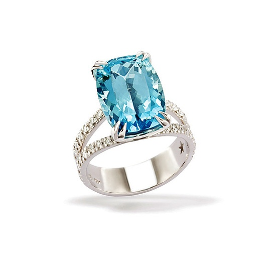 H. Stern Paraiba Tourmaline and Diamond Ring - jewelry - We're Obsessed - Fashion - Instyle.com
