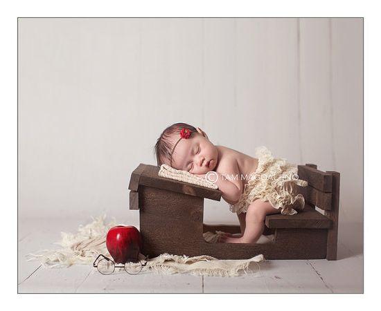 Newborn Photography Prop Desk Photo Prop by MrAndMrsAndCo on Etsy, $85.00