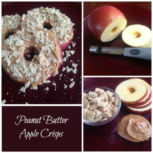 Peanut Butter Apple Crisps #health #tip #snack