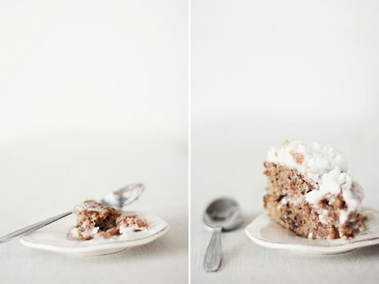 SPICED CARROT CAKE WITH COCONUTCREAM