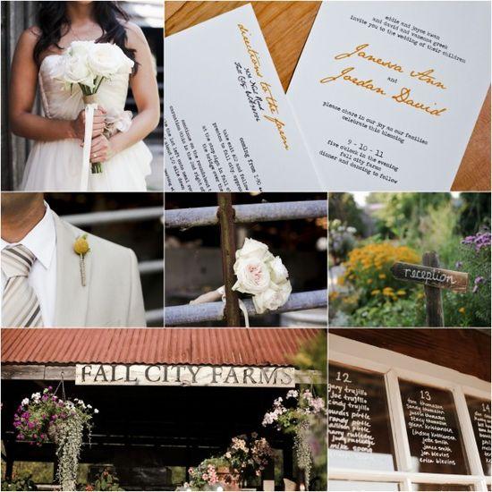 Farm Wedding Ideas