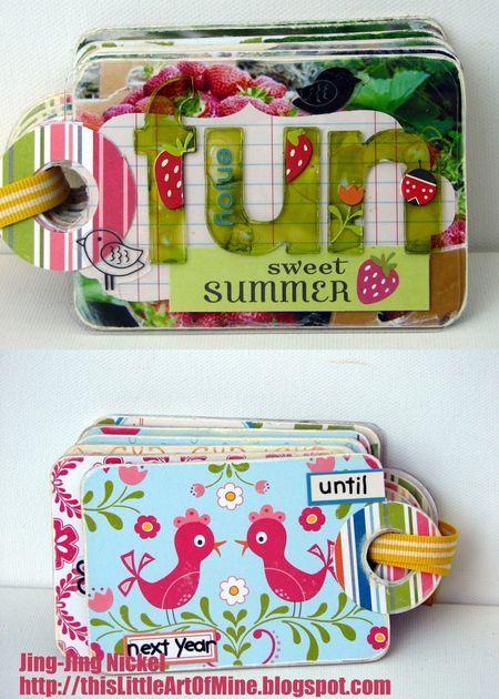 Cute little scrapbooks