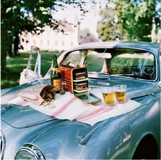 Car hoods, tailgates, any kind of picnic is OK with me. #Picnic #Al Fresco