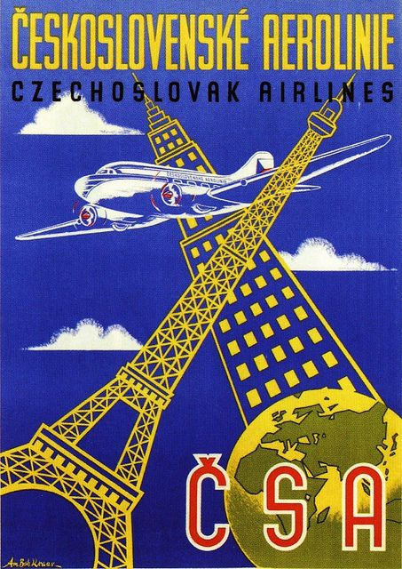 Czech Airlines ad