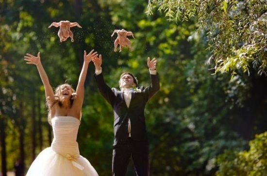 Bizarre Wedding Photos
